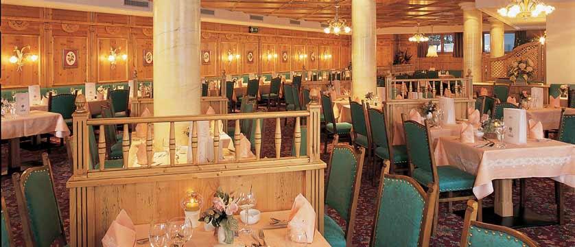 Family Resort Alpenpark, Seefeld, Austria - Dining room.jpg